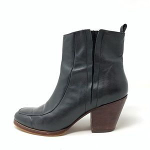 Rachel Comey stacked heel ankle boots size 9